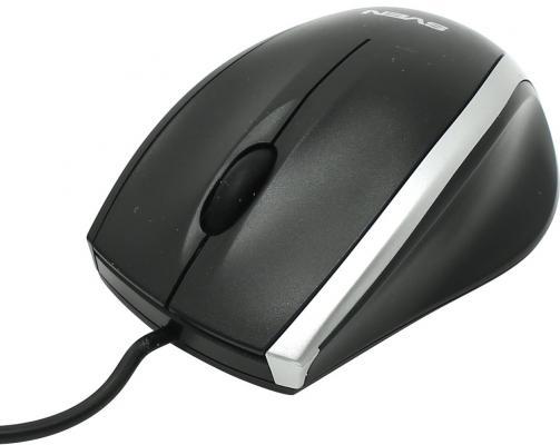 все цены на Мышь проводная Sven RX-180 чёрный USB онлайн