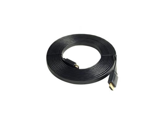 Кабель HDMI 3.0м Sven Ethernet High speed Flat 00474
