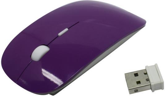 Мышь беспроводная CBR CM-700 фиолетовый USB мышь беспроводная cbr m 547 жёлтый usb