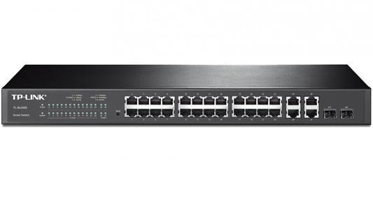 Коммутатор TP-Link TL-SL2428 принт сервер tp link tl ps110p