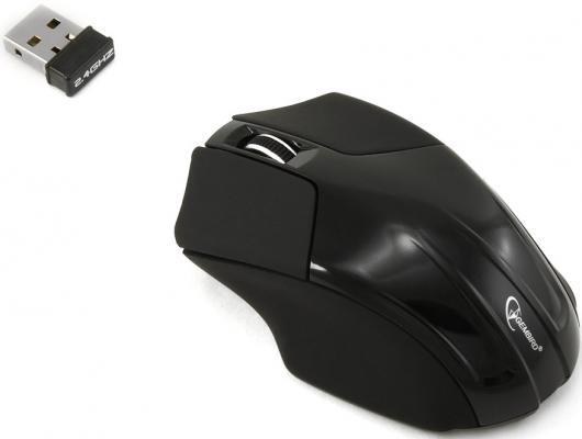все цены на  Мышь беспроводная Gembird MUSW-206 чёрный USB  онлайн