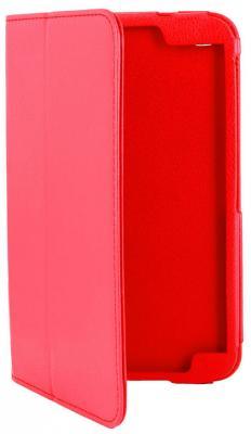 """Чехол IT Baggage для планшета Samsung Galaxy Tab 3  7"""" иск. кожа красный (ITSSGT7302-3)"""