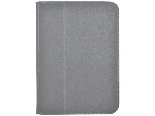 "Чехол Jet.A SC10-26 для Samsung Galaxy Tab 3 10.1"" натуральная кожа серый"