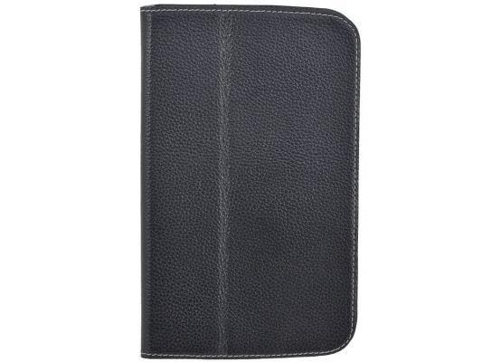 """Чехол Jet.A SC7-26 для Samsung Galaxy Tab 3 7"""" натуральная кожа черный"""