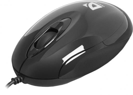 Мышь проводная Defender Phantom 320 чёрный USB 52818