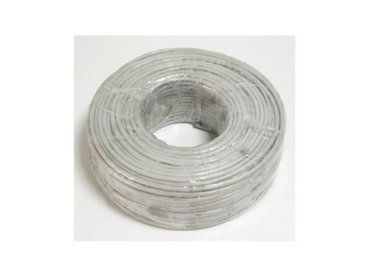 Кабель Telecom омедненный одножильный 100м серый кабель nymбм j 3х1 5 ту серый 100м мастертока 10338