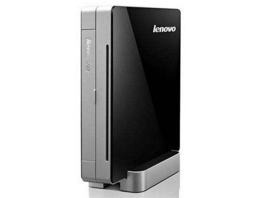 Неттоп  Lenovo IdeaCentre Q190 Celeron 1017U 1.6GHz 4Gb 500Gb DVD-RW Wi-Fi Win8Pro клавиатура мышь 57-316615