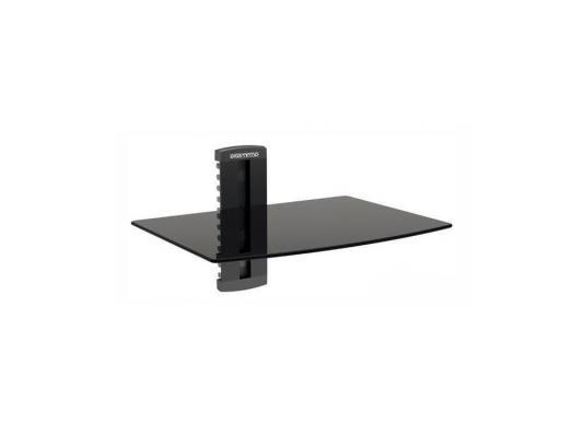 Кронштейн для DVD плееров ARM Media DVD-100 черный стекло максимальная нагрузка 10 кг