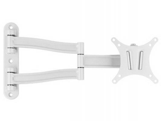 """Кронштейн VLK LCD-1 для LCD/LED 15""""-26"""" VESA 100x100 4 ст.свободы max 15 кг настенный белый"""