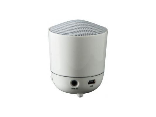 Портативная акустика DEFENDER 1.0 HiT S2 White