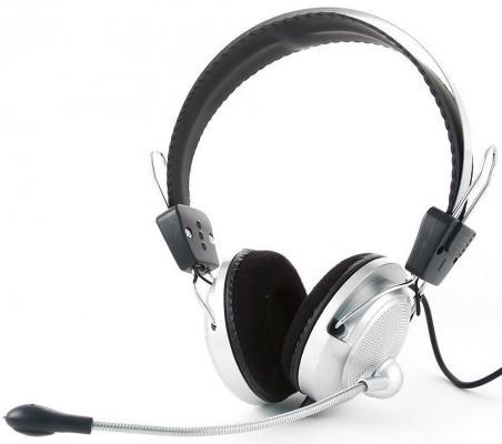 Проводная гарнитура Gembird MHS-300 Silver-Black