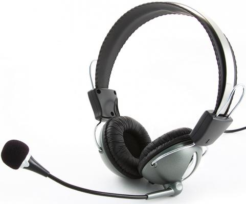 Проводная гарнитура Gembird MHS-872 Gray