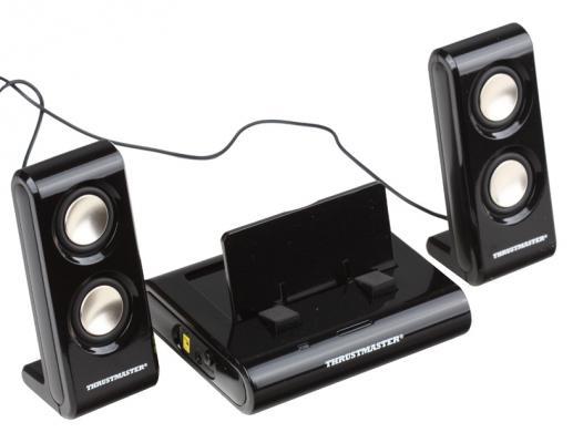 Портативная акустика Thrustmaster Sound System + Док станция для PSP Black (4160512)