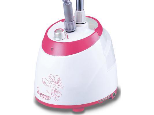 Отпариватель Kromax ODYSSEY Q-105 производительность 30 г/мин  мощность 1500 Вт емкость бака 1900 мл бело розовый