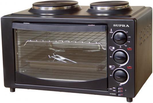 Мини-печь Supra MTS-302 чёрный