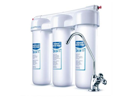 Купить со скидкой Фильтр для воды Аквафор Трио Норма
