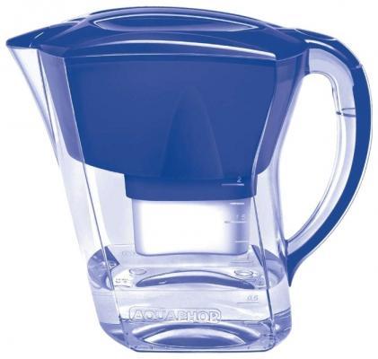 Фильтр кувшин для воды Аквафор Агат синий фильтр кувшин аквафор атлант тёмно зелёный