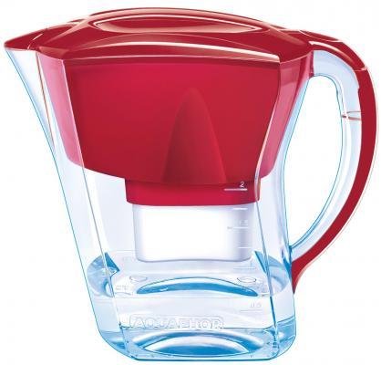 Фильтр кувшин для воды Аквафор Триумф рубиновый