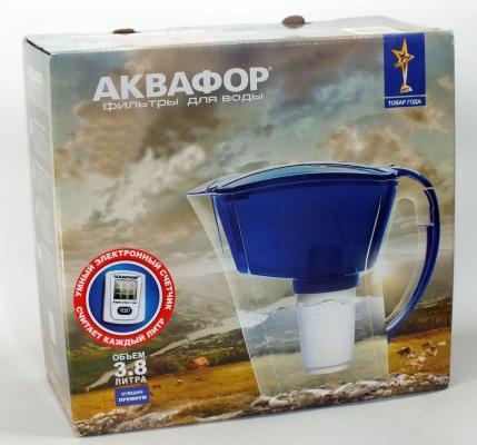 Фильтр кувшин для воды Аквафор Триумф синий