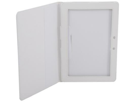 Чехол IT BAGGAGE для планшета ASUS ME301/ME302/TF300 искусcтвенная кожа белый ITASME302-0