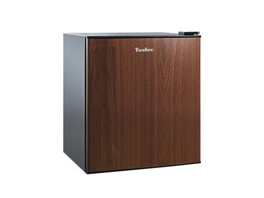 Холодильник TESLER RC-55 под дерево морозильник tesler rf 90 белый