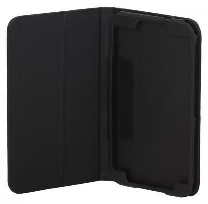 """Чехол IT BAGGAGE для планшета Samsung Galaxy Tab 3  8 искусственная кожа черный ITSSGT8302-1 чехол 7"""" it baggage для планшета samsung galaxy tab gt p3100 p3110 itssgt7205 1 slim искусственная кожа черный"""