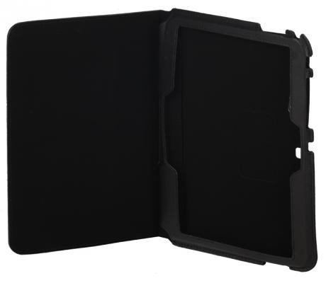 """Чехол IT BAGGAGE для планшета Samsung Galaxy Tab 4 10.1"""" искусственная кожа черный ITSSGT1035-1 it baggage чехол для samsung galaxy tab 4 tab 3 10 1 black"""