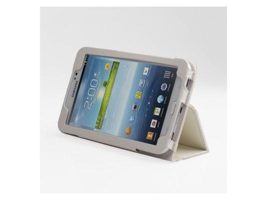 Чехол IT BAGGAGE для планшета Samsung Galaxy Tab 3 7 искусственная кожа белый ITSSGT7302-0 mantra 3685