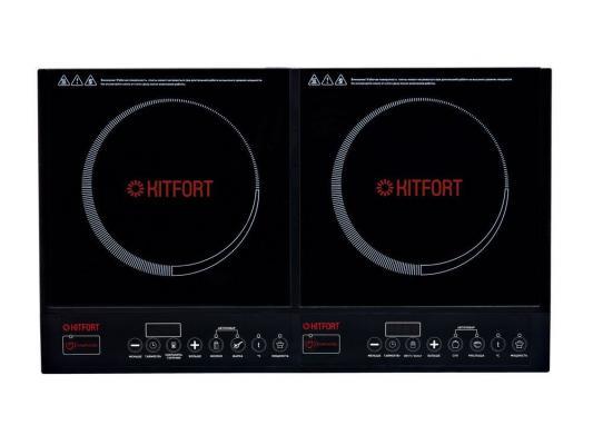 плитка индукционная kitfort кт 106 ultra slim Электроплитка KITFORT КТ-104 индукционная