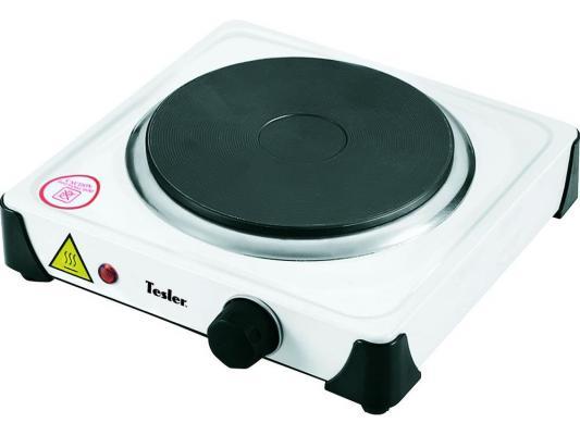 Плитка электрическая TESLER PE-10 белый tesler pe 15 white плитка электрическая
