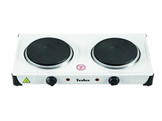 Электроплитка TESLER PE-20 белый электрическая плитка tesler pe 10 white pe 10 white