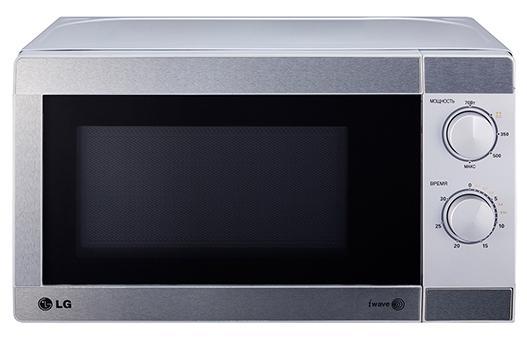 СВЧ LG LG MS-2022U 700 Вт серебристый lg 49lf540v