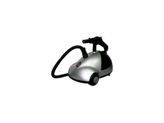 Отпариватель-пароочиститель компактный Kromax ODYSSEY Q-901 пар 40 г/мин мощность 1800 Вт емкость бака 1500 мл серый/черный