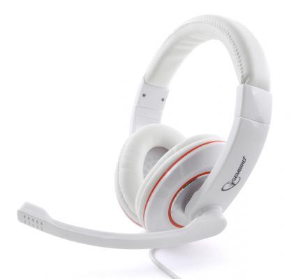 Проводная гарнитура Gembird MHS-780 White стоимость
