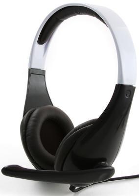 Гарнитура Gembird MHS-901 стерео черно-белый mhs 800