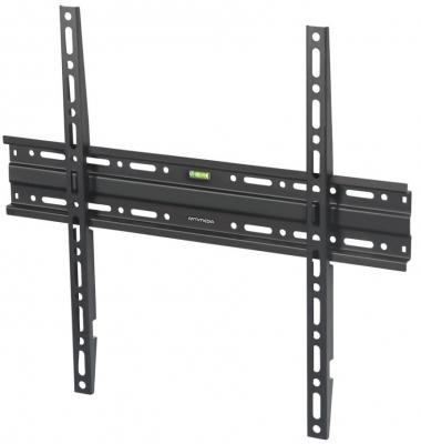 Кронштейн ARM Media PLASMA-3 черный для LED/LCD ТВ 22-65 настенный 0 ст свободы от стены 26 мм VESA 400x400мм до 50кг