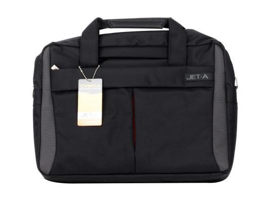 """Сумка для ноутбука 15.6"""" Jet.A LB15-16 полиэстер черный от 123.ru"""
