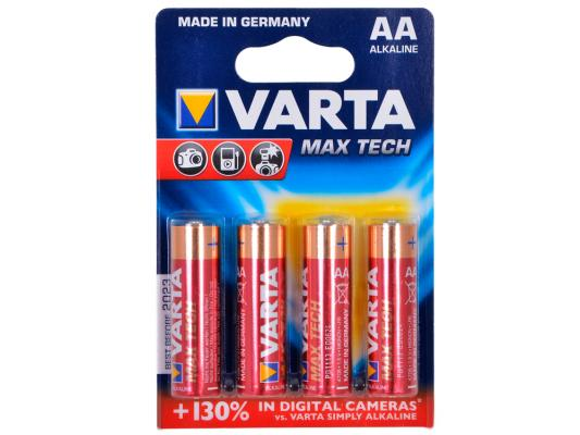 Батарейки Varta Max Tech AA 4 шт