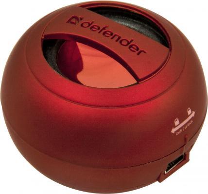Портативная акустика DEFENDER 1.0 Soundway Red
