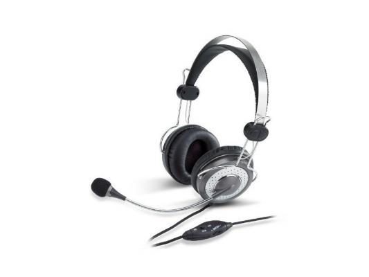 Проводная гарнитура Genius HS-04Su аудио наушники genius наушники headset hs 04su