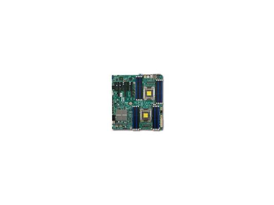 Материнская плата для ПК Supermicro MBD-X9DRi-F 2 х Socket 2011 C602 16хDDR3 3xPCI-E 16x 3xPCI-E 8x 8xSATA II 2xSATAIII EATX Retail