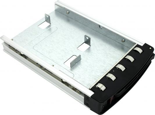 """Корзина Supermicro для установки 2.5"""" устройств в отсек 3.5"""" MCP-220-00080-0B supermicro mcp 220 00080 0b набор для установки hdd 2 5 sata дисков в отсек 3 5"""