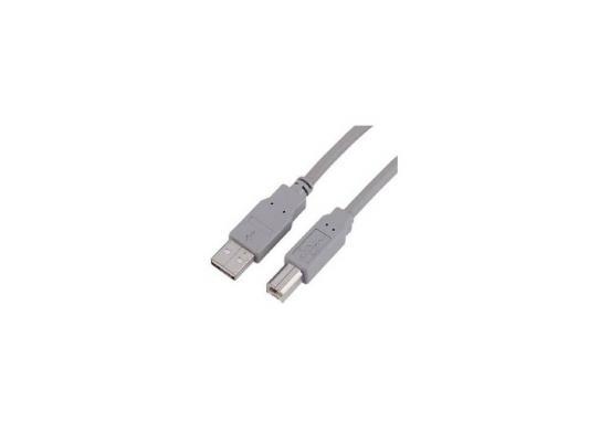 Кабель USB 2.0 AM-BM 1.8м Hama H-45021 экранированный серый кабель hama h 54589 usb 2 0