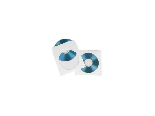 Конверты Hama для CD/DVD с окошком 100шт H-51174