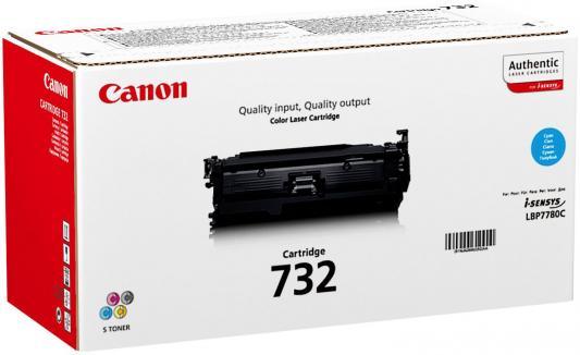 Лазерный картридж Canon 732C для LBP7780Cx 6400стр.,голубой картридж canon 732c голубой [6262b002]