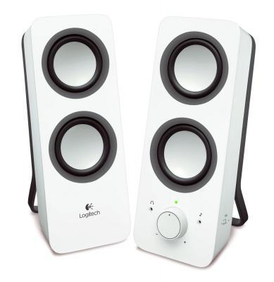 Колонки Logitech Z200 White (980-000811) колонки logitech multimedia speakers z333