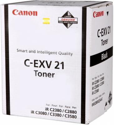 все цены на Тонер-картридж Canon C-EXV21 черный для iRC2880/2880i/33803380i 26000стр. онлайн