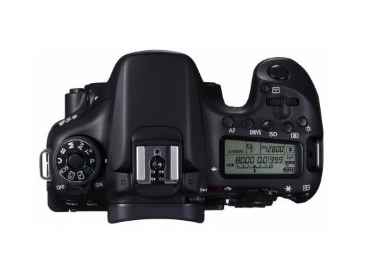 Зеркальная фотокамера Canon EOS 70D Body черный