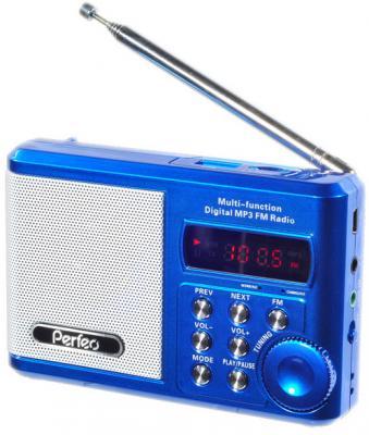 Портативная акустическая система Perfeo Sound Ranger BL-5C Blue (PF-SV922) портативная колонка perfeo sound ranger red