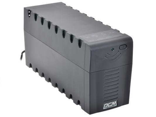 Источник бесперебойного питания Powercom RPT-1000A Raptor 1000VA/600W AVR 3 IEC источник бесперебойного питания powercom raptor rpt 1000a euro 1000вa